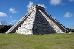 Chichen Itza in Mexico Stock Photos