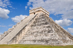 Chichen Itza in Mexico. Chichen Itza Modern Seven Wonders of the World in Mexico Royalty Free Stock Photos