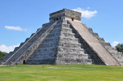 Chichen Itza in Mexico Stock Afbeelding