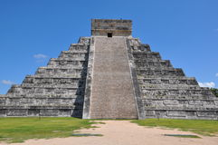 Chichen Itza in Mexico Royalty Free Stock Images