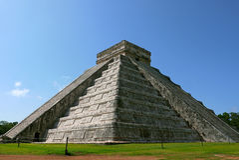 Chichen Itza, Mexico Royalty-vrije Stock Afbeeldingen