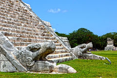 Chichen Itza. MEXICO. Royalty Free Stock Photos