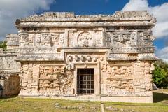 Chichen Itza, Mexico. The church. Monjas group Stock Photos