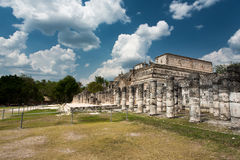 Chichen Itza in Mexico. Chichen Itza monuments in Mexico Royalty Free Stock Photography