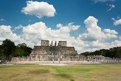 Chichen Itza in Mexico. Chichen Itza monuments in Mexico Royalty Free Stock Photos