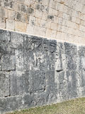 Chichen Itza, Mexico. Old wall in Chichen Itza, Mexico, one of the New Seven Wonders of the World. The UNESCO list Stock Photos