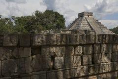 Chichen Itza, MEXICO, TOERISME, ARCHEOLOGIE Stock Afbeeldingen