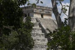 Chichen Itza, MEXIKO, TOURISMUS, ARCHÄOLOGIE stockfotos
