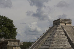 Chichen Itza, MEXIKO, TOURISMUS, ARCHÄOLOGIE stockbild