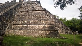 Chichen itza monument Stock Photography