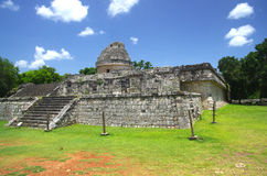 Chichen Itza Observatory Royalty Free Stock Photos