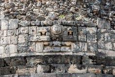 Chichen Itza Observatory Mexico royalty free stock photo