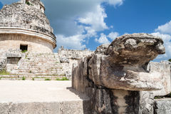 Chichen Itza Observatory Stock Photos