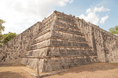 Chichen Itza  old town ruins in Mexico. Royalty Free Stock Photo