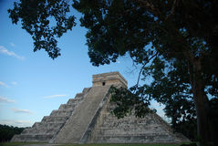 Chichen Itza one of the New Seven Wonders of the World Royalty Free Stock Photos