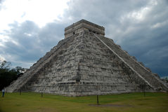 Chichen Itza one of the New Seven Wonders of the World Stock Photos
