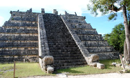 chichen itza ossuary zdjęcia royalty free