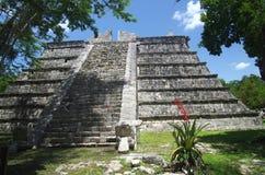 Chichen Itza Ossuary Arkivfoto