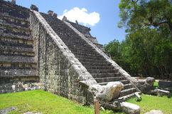 Chichen Itza Ossuary Royalty Free Stock Photos