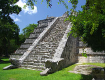 Chichen Itza Ossuary Royalty Free Stock Photography