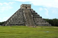 Chichen Itza - Piramide Stock Afbeelding