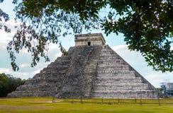 chichen itza piramidy zdjęcie stock