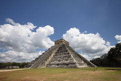 Chichen Itza pyramid Stock Photography