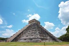 Chichen Itza pyramid Arkivbild