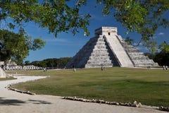Chichen Itza pyramid Arkivbilder