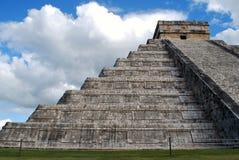 Chichen Itza pyramid Arkivfoto