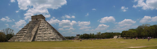 Chichen Itza pyramid. Yucatan, Mexico Royalty Free Stock Photography