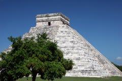 Chichen Itza pyramid Royalty Free Stock Photography