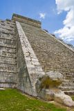 Chichen Itza pyramid. Main Mayan temple. Chichen Itza temple in Cancun, Yucatan area of Mexico. Pyramid steps Royalty Free Stock Photos