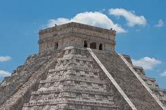 Chichen itza pyramid Royalty Free Stock Photo