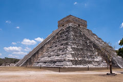 Chichen itza pyramid Stock Image