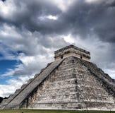 Chichen Itza main pyramid Stock Photos