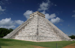 Chichen Itza. Pyramid at chichen itza in mexico Royalty Free Stock Photo