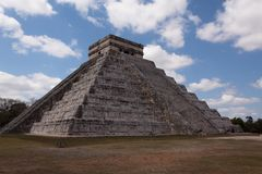 Chichen Itza Pyramid, Mexico Latin America stock images