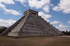 Chichen Itza pyramid, Mexico Latinamerika arkivbilder
