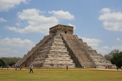 Chichen Itza pyramid. Mexico wonder of the world Royalty Free Stock Photography