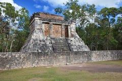 Chichen Itza pyramid,  Mexico Stock Images