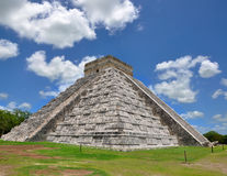 Chichen Itza Pyramid, Wonder of the World, Mexico. Yucatan Stock Images