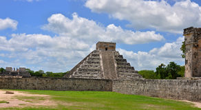 Chichen Itza Pyramid, Wonder of the World, Mexico Stock Photography