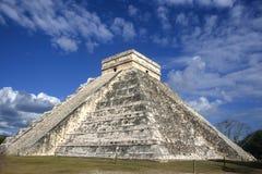 Chichen Itza. Pyramid in Yucatan Peninsula Royalty Free Stock Images