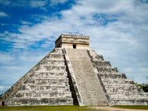Chichen Itza. Pyramid in the Yucatan Peninsula, Mexico Royalty Free Stock Photo