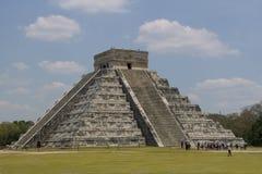 Chichen Itza Pyramide Lizenzfreies Stockfoto
