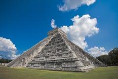 Chichen Itza Pyramids. An ancient myan pyramid in Chichen Itza, Mexico Royalty Free Stock Photos