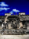 chichen itza ruinę obrazy stock