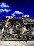 Chichen Itza Ruine stockbilder