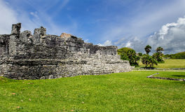 Chichen Itza Ruins. At Mexico Stock Photo